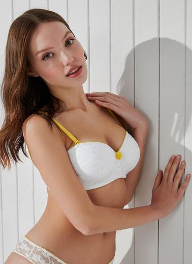 Penti Optik Beyaz Lotus Colors Sütyen Beyaz